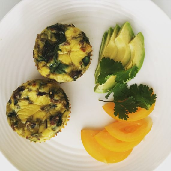 dairy free egg muffin breakfast recipe at nutritionbliss.com