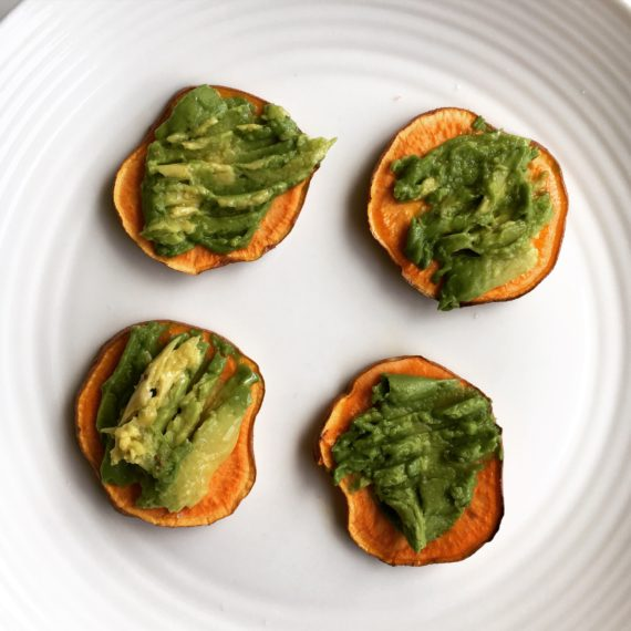 sweet potato toast recipe at nutritionbliss.com