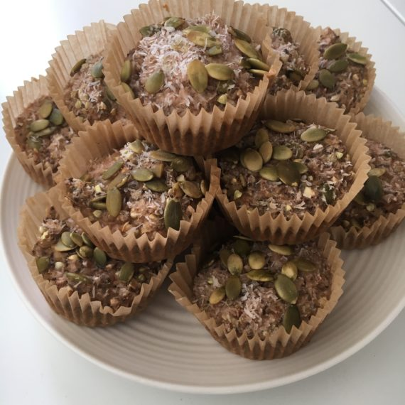 sugar free buckwheat muffin recipe at www.nutritionbliss.com