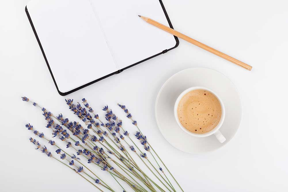 Image of notebook for labs and supplements with Jen Martinsen at nutritionbliss.com