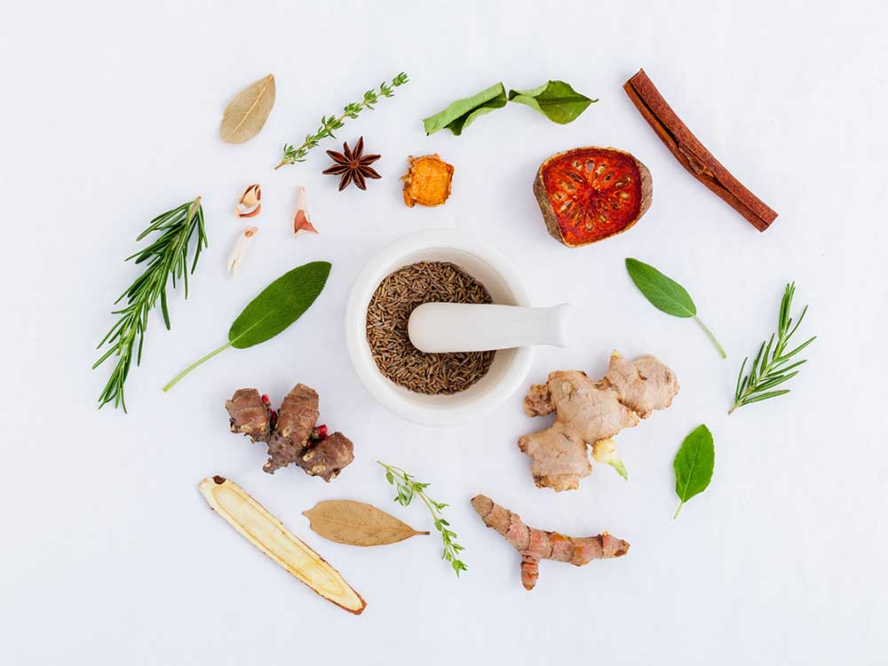 Image of herbs representing labs and supplements at nutritionbliss.com