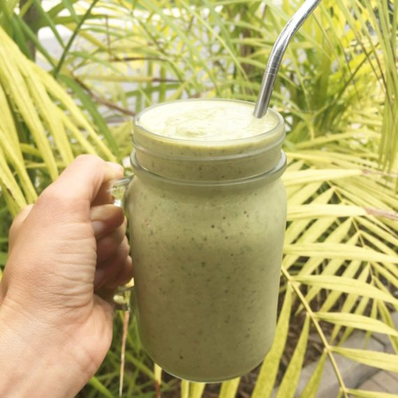 image of green smoothie