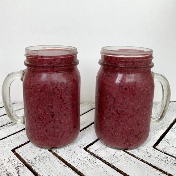 berry cleansing smoothie recipe